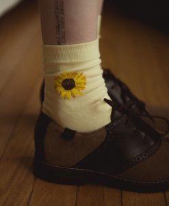 جوراب ساقدار آفتاب گردان