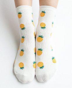 جوراب طرح آناناس